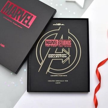Personalised Marvel 10 Year Anniversary Collection