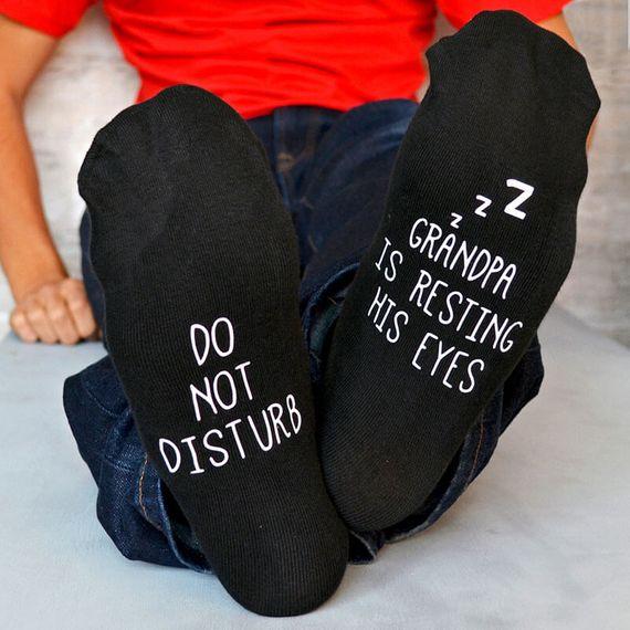 Personalised Do Not Disturb Socks