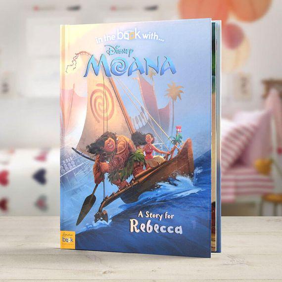 Personalised Moana Book