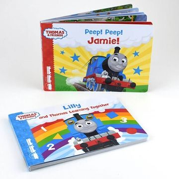 Personalised Thomas & Friends Book Set
