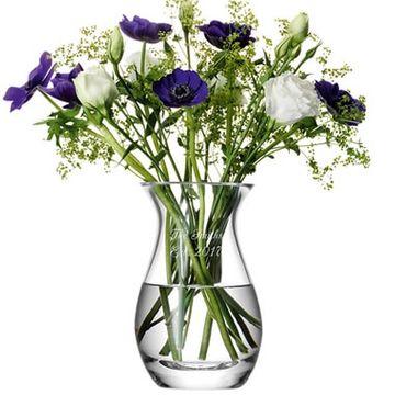 Personalised LSA Posy Vase
