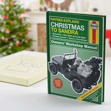 Personalised Haynes Explains Christmas