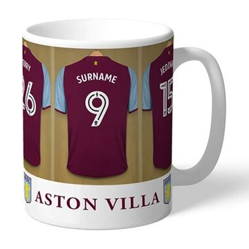 Personalised Aston Villa Dressing Room Mug