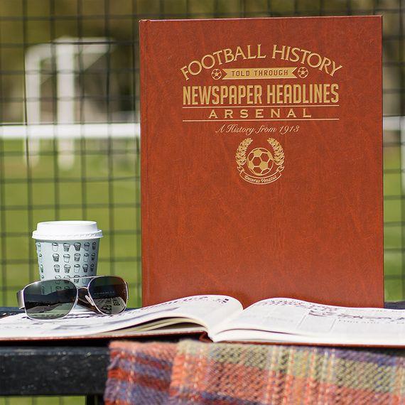 Personalised Arsenal Football Team History Book