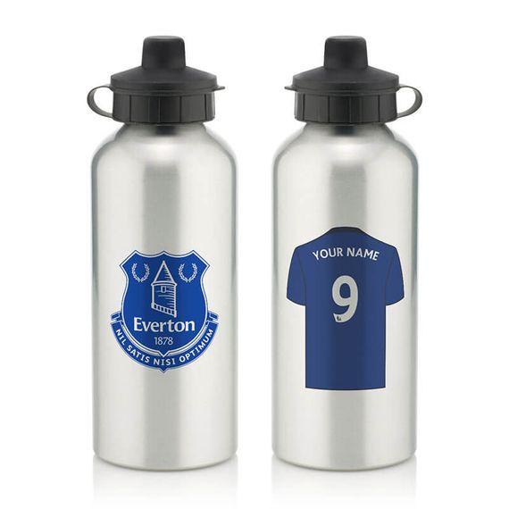 Personalised Everton FC Water Bottle