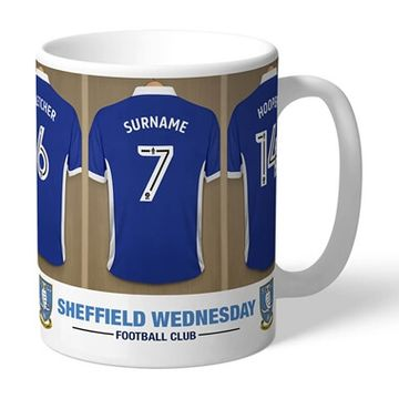 Personalised Sheffield Wednesday FC Dressing Room Mug