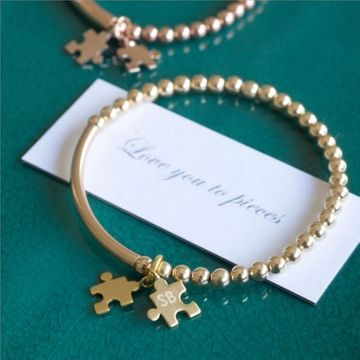 Personalised 'Love You To Pieces' Bracelet
