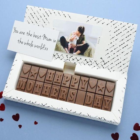 Personalised Chocolates for Mum