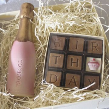 Birthday & Prosecco Chocolates