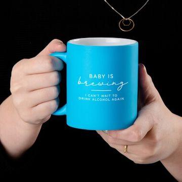 Baby Brewing Neon Mug