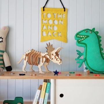 Timber Lamp - Triceratops Kit