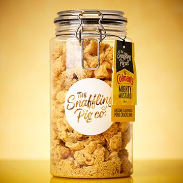 Mighty Colman's Mustard Pork Crackling Gifting Jar