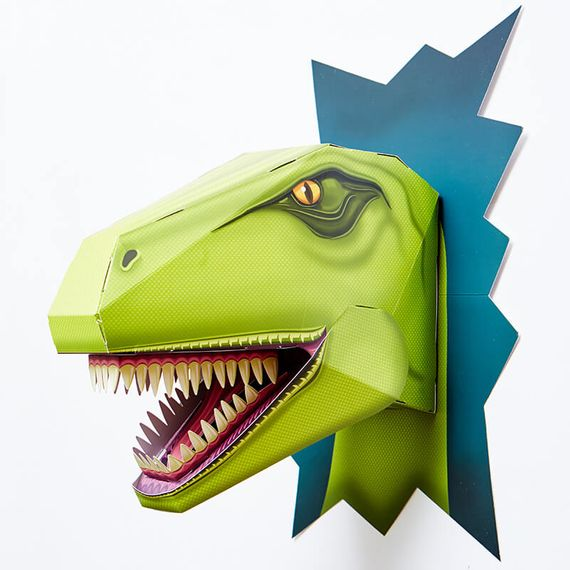Build a Terrifying T-Rex Head
