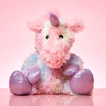 Warmies Microwavable Plush Toy - Rainbow Unicorn