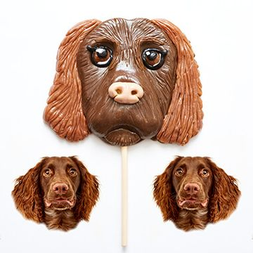 Personalised Dog Face Lollipop
