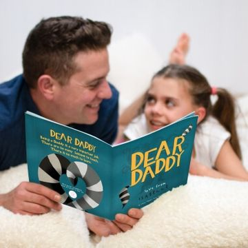 Personalised Dear Daddy Book