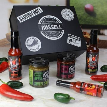 Personalised Hot Headz Hot Gift Box