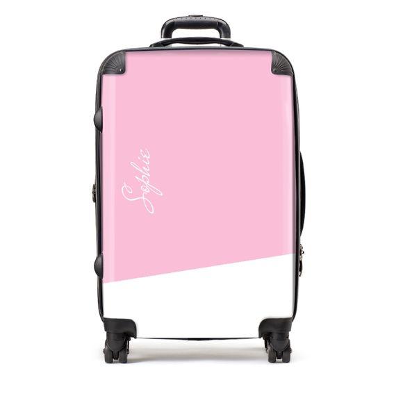Personalised Medium Script Name Suitcase