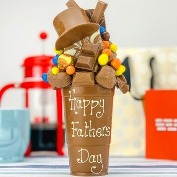 Personalised Father's Day Milk Chocolate Smash Cup