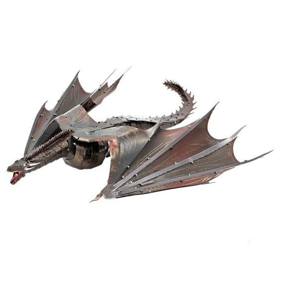 Metal Earth Game of Thrones Drogon Model Kit