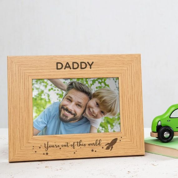 Personalised Out of This World Photo Frame