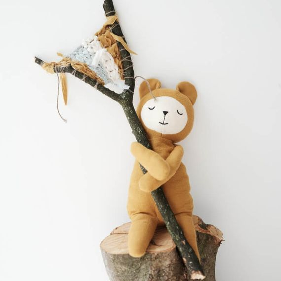 Bear Buddy Organic Soft Toy