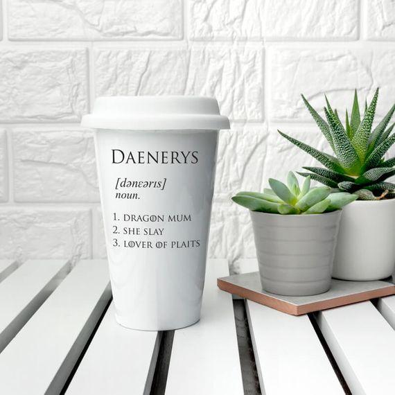 Game of Thrones Daenerys Travel Mug