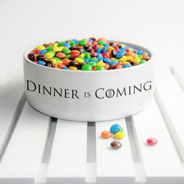 Game of Thrones Dinner is Coming Bowl
