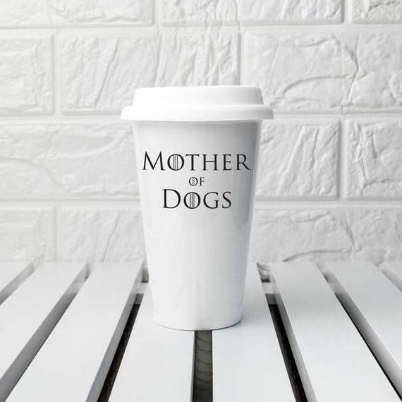 Game of Thrones Mother of Dogs Travel Mug
