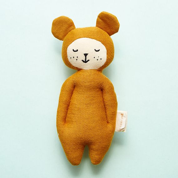 Bear Organic Soft Rattle