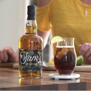 Personalised Dark Spiced Rum