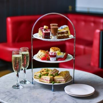 Sparkling Afternoon Tea for Two at Cafe Rouge