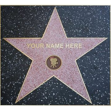 Personalised Star of Fame