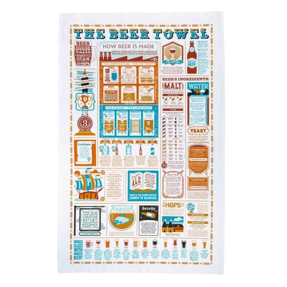The Beer Tea Towel