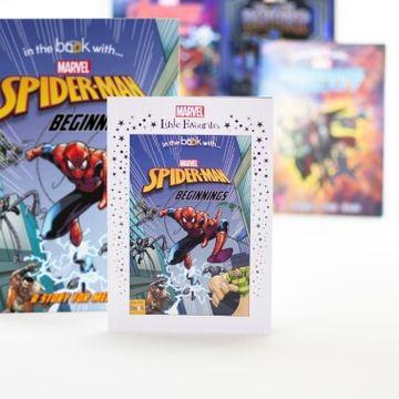 Personalised Marvel Little Favourites Spider-Man Beginnings