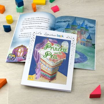 Personalised Princess and the Pea Story Book