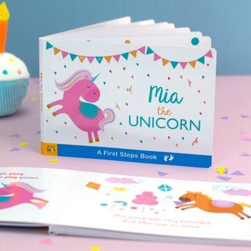 Personalised Unicorn Board Book