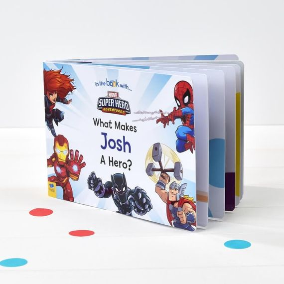 Personalised What Makes Me a Hero Board Book