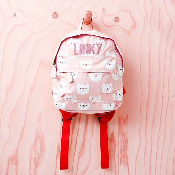 Personalised Cat Backpack
