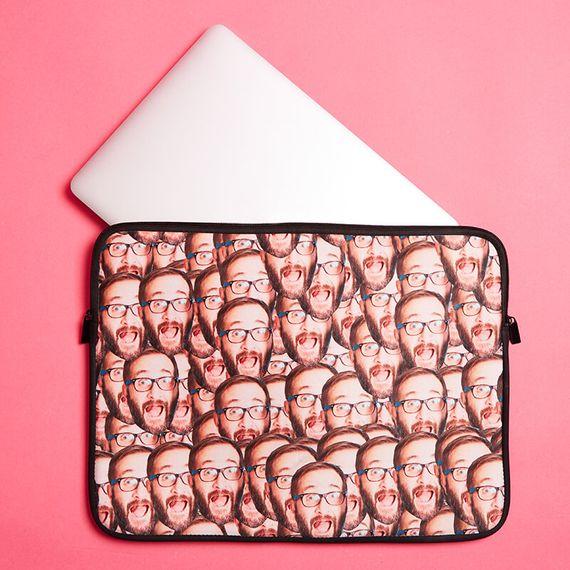 Personalised Multi Face Laptop Case