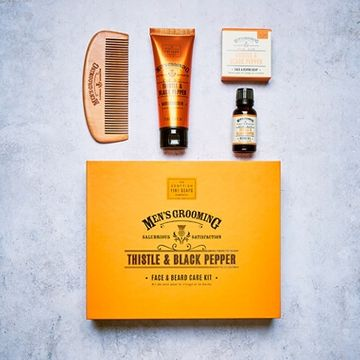 Men's Face & Beard Care Kit