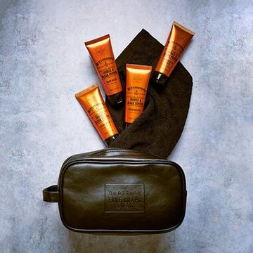 Men's Grooming Collection with Wash Bag