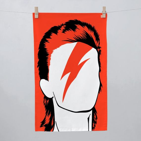 David Bowie Tea Towel