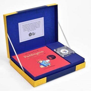 Paddington Bear Royal Mint Collection Box - Silver