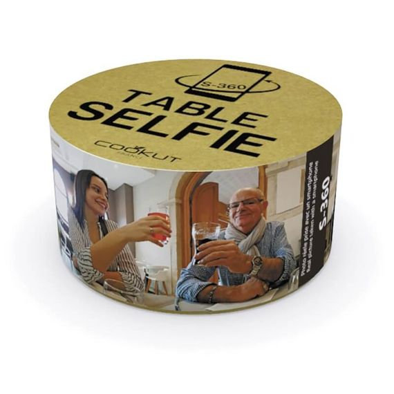 Table Selfie - Camera Stand To Take 360 Degree Pictures