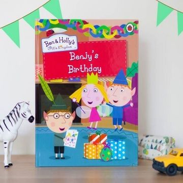 Personalised Ben & Holly Birthday Book