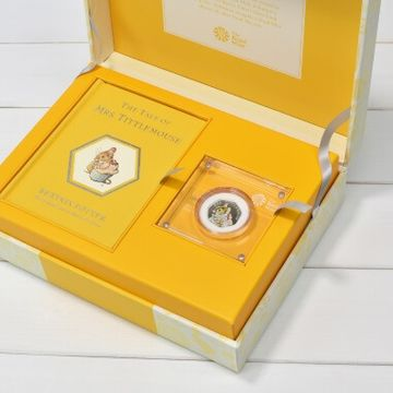 Limited Edition Mrs Tittlemouse Royal Mint Gift Box