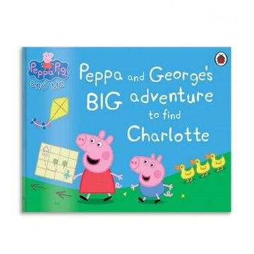 Personalised Peppa Pig's Big Adventure Book