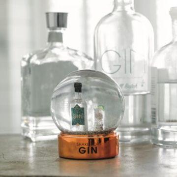 Shake For Gin Snow Globe