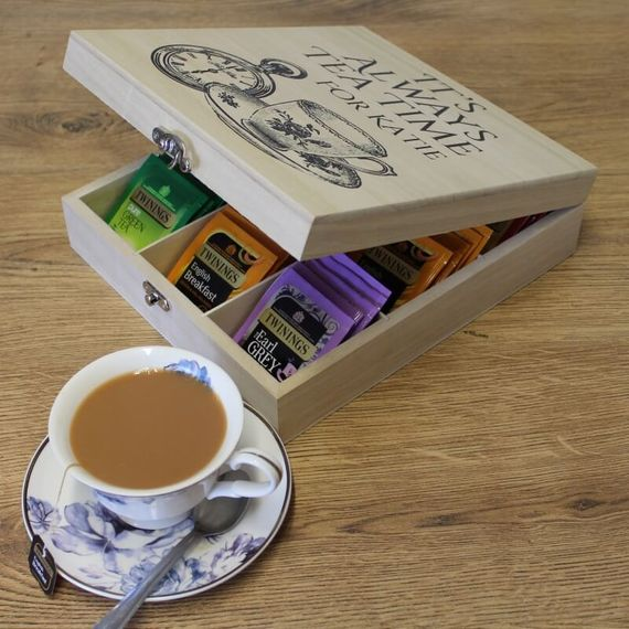 Personalised Twinings Time for Tea Box